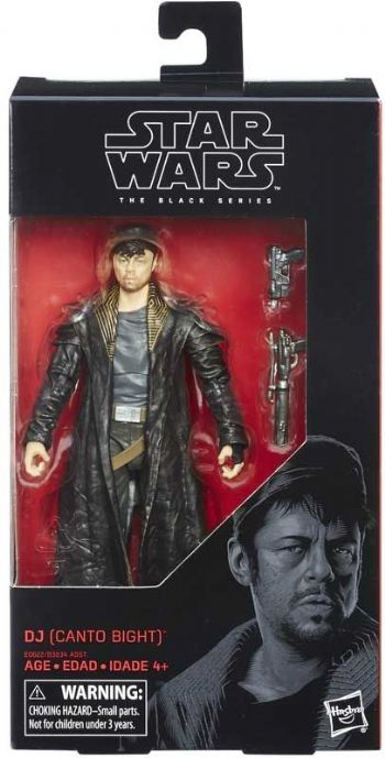 "Star Wars The Black Series DJ (Canto Bight)  6"" Action Figure"